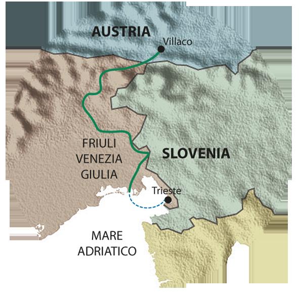 mappa ALPEADRIA