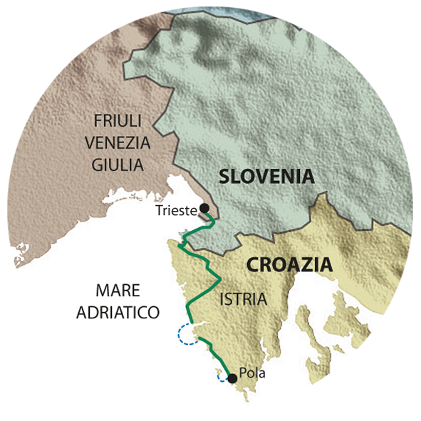 mappa ISTRIA
