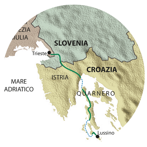 mappa QUARNERO