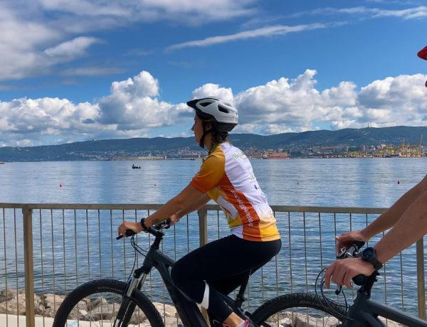 bici lungomare Muggia